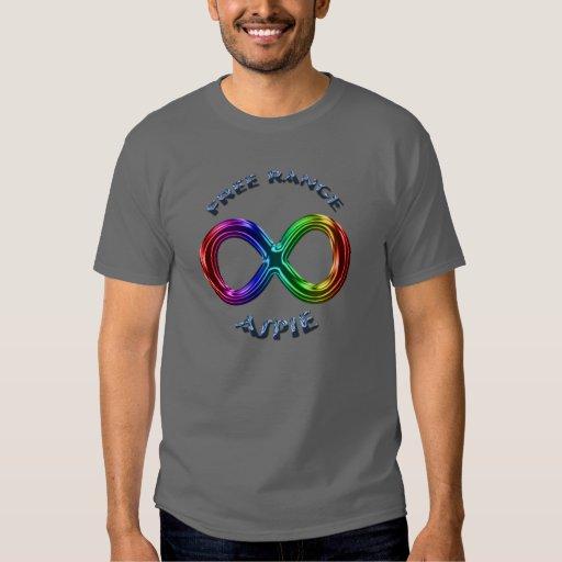 Free Range Aspie T Shirt