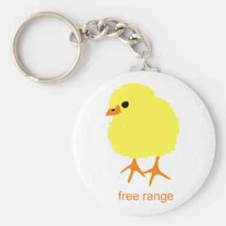 Free Range Chick Keychain