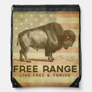 Free Range Drawstring Backpack