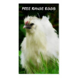 Free Range Eggs Layer or Poultry Bird Business Card Template