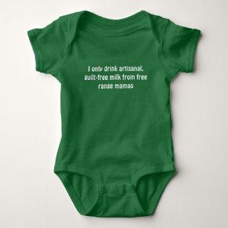 Free Range Mama Milk Baby Bodysuit
