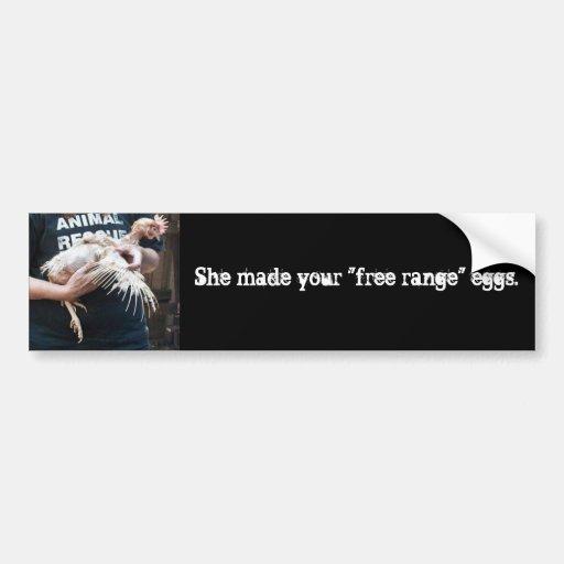 Free Range Myth Bumper Stickers