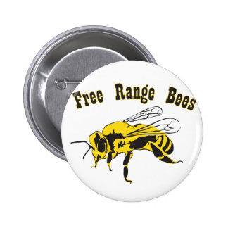 Free range pinback button
