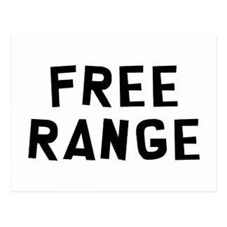 Free Range Postcard