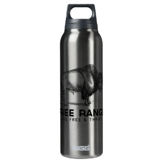 Free Range 16 Oz Insulated SIGG Thermos Water Bottle