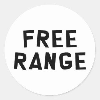 Free Range Stickers