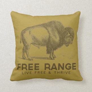 Free Range Throw Pillow