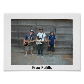 Free Refills Canvas Prints! Print