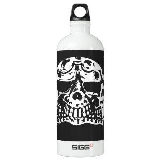 Free ride open roads aluminum water bottle
