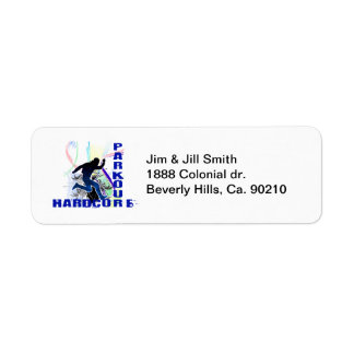 Free Running Parkour Hardcore Labels