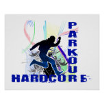 Free Running Parkour Hardcore Poster