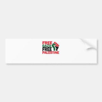 FREE SAFE GAZA PALESTINE G png Bumper Stickers