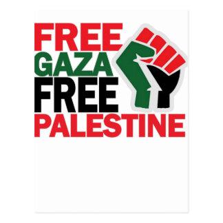 FREE SAFE GAZA PALESTINE G.png Postcard