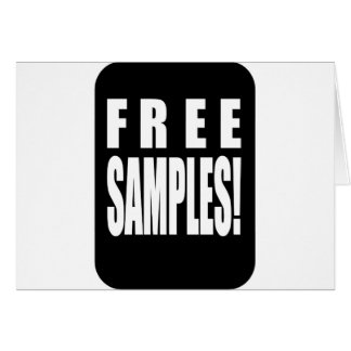free samples card