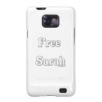 Free Sarah Galaxy S2 Cases
