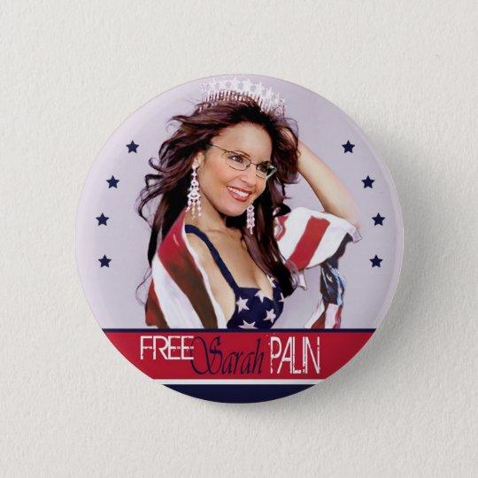 Free Sarah Palin Pinback Button
