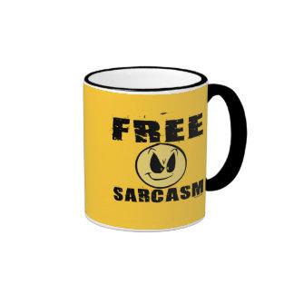 Free Sarcasm Ringer Coffee Mug