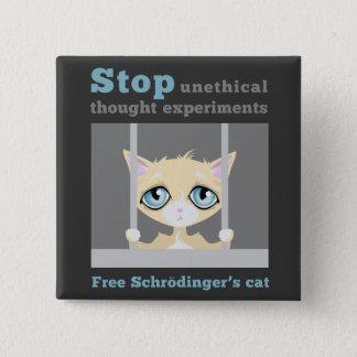 Free Schrodinger's Cat Button