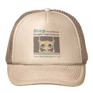 Free Schrodinger's Cat Mesh Hats