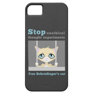 Free Schrodinger's cat iPhone SE/5/5s Case