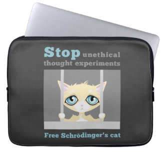 Free Schrodinger's Cat Laptop Computer Sleeves