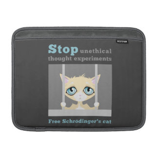 Free Schrodinger's Cat MacBook Sleeve