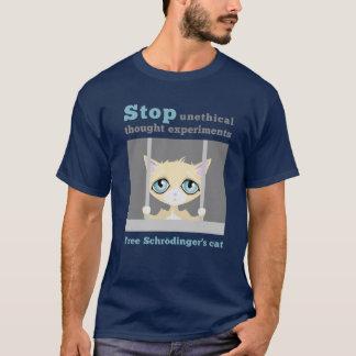 Free Schrodinger's Cat T-Shirt