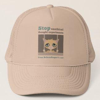 Free Schrodinger's Cat Trucker Hat
