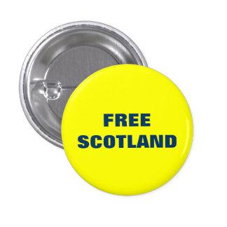 Free Scotland Pinback Button