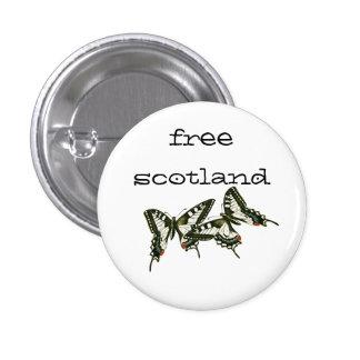 Free Scotland Swallowtail Butterflies Pinback Buttons