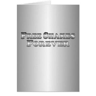 Free Shakes Forever - Basic Card