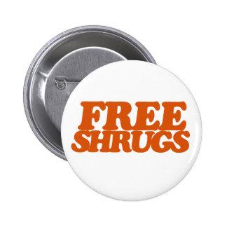 Free Shrugs Button