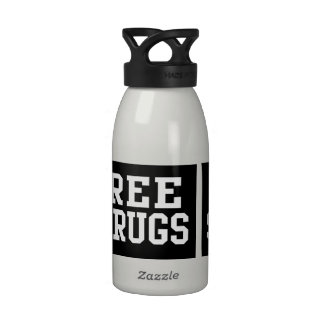 Free Shrugs, Funny Parody Water Bottles