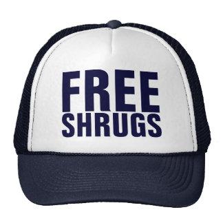 Free Shrugs Hats