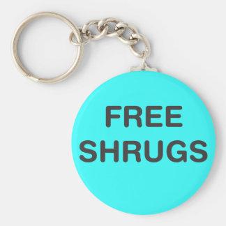 Free Shrugs Keychain
