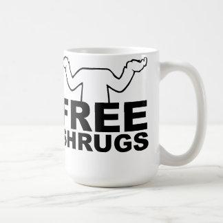Free Shrugs Mug