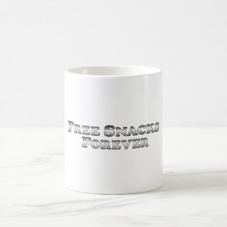 Free Snacks Forever - Basic Coffee Mug