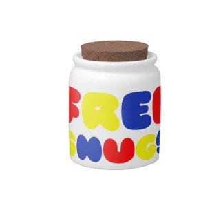 FREE SNUGS CANDY JAR