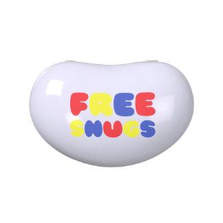 FREE SNUGS CANDY TINS