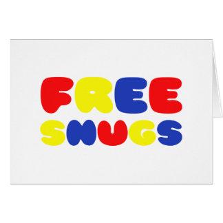 FREE SNUGS CARD