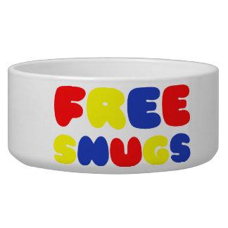 FREE SNUGS DOG BOWLS