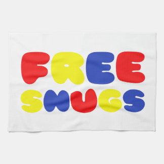 FREE SNUGS HAND TOWEL