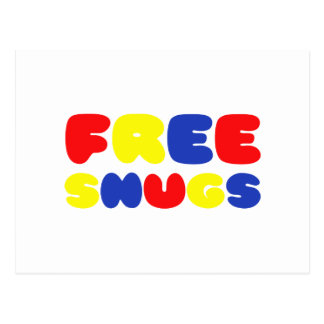 FREE SNUGS POSTCARD