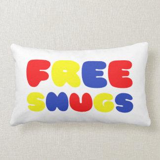 FREE SNUGS THROW PILLOW