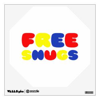 FREE SNUGS WALL DECAL
