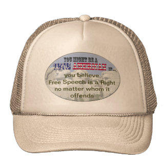 free speech a right hat