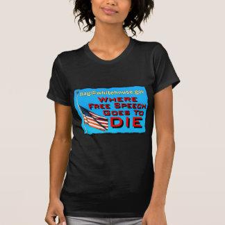 free speech death copy t-shirt