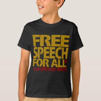 Free Speech For All* T-Shirt