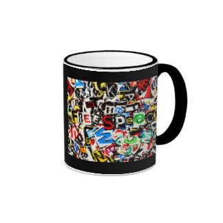 Free Speech Illustration Coffee Mug