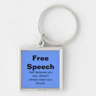 Free Speech Keychain